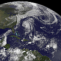 Tropical Cyclones Katia, Lee, Maria by Stocktrek Images