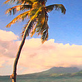 Tropical Island 2 - Painterly by Wingsdomain Art and Photography