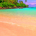 Tropical Island 3 - Painterly by Wingsdomain Art and Photography