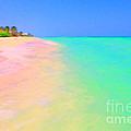 Tropical Island 7 - Painterly by Wingsdomain Art and Photography
