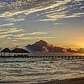 Tropical Ocean Sunset by Nick Jene