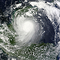 Tropical Storm Karl Over The Yucatan by Stocktrek Images
