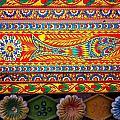 Truck Art Detail by Fareeha Khawaja