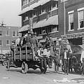 Truck On Street Near Tulsa, Oklahomas by Everett