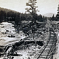 Truckee River - California Looking Toward Donner Lake - C 1865 by International  Images
