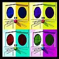 Truly Nolen Rat In Quad Colors by Rob Hans