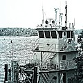 Tug Boat by Jeanette Hiestand