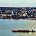 Tugboat On The Hudson by Paul Ward