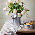 Tulips And Pears by Nailia Schwarz