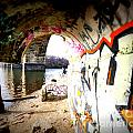 Tunnel Bridge River Fish by Tracy Reese
