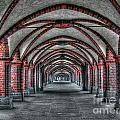 Tunnel With Arches by Mats Silvan