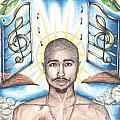 Tupac In Heaven by Debbie DeWitt
