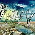 Turbulent Sky by Brenda Owen