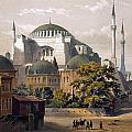 Turkey: Hagia Sophia, 1852 by Granger