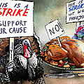 Turkey Strike by Miki De Goodaboom
