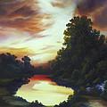 Turner's Sunrise by James Christopher Hill