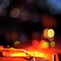 Turntable And Club Lights by Vilhelm Sjostrom