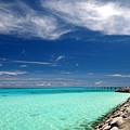 Turquoise Blue Sea by Takau99