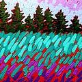 Turquoise Field by John  Nolan