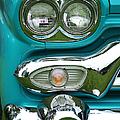 Turquoise Headlight by Randy Harris