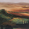 Tuscan Hills by Elise Okrend