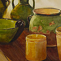 Tuscan Vases And Pots by Toni Roark