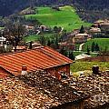 Tuscany Landscape 2 by Bob Christopher