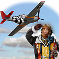 Tuskegee Airman by Tom Griffithe