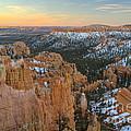 Twilight At Bryce by Idaho Scenic Images Linda Lantzy