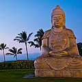 Twilight Buddha by Adam Pender