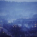 Twilight In Bath, England by Skip Brown