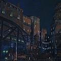 Twilight In Left Field by William Bezik