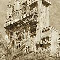 Twilight Zone Tower Of Terror Vertical Hollywood Studios Walt Disney World Prints Vintage by Shawn O'Brien