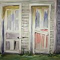 Twin Doors by Carol Mueller