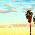 Twin Palms by Gregory Dyer