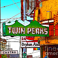 Twin Peaks Bar In San Francisco by Wingsdomain Art and Photography