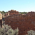 Twin Towers At Hovenweep by Cynthia Cox Cottam