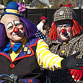 Two Clowns by Jon Berghoff