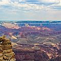 Two Crows Watch Over The Canyon by Heidi Smith