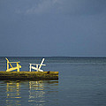 Two Deck Chairs In Conversation by Boyd Norton