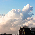 Two Houses One Cloud by Semmick Photo