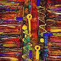 Two Keyholes by Angela L Walker