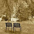 Two Lonely Chairs by Bruno Miranda