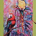 Captive Birds Of The Rain Forest by Charles Munn