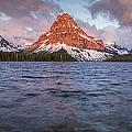 Two Medicine Lake Panorama by Greg Nyquist