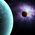 Two Planets Born From The Same Star by Brian Christensen