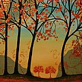Two Small Trees by Peggy Davis