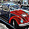 Two Toned Vw Beetle by Samuel Sheats