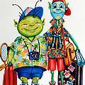 Two Tourists True by Hanne Lore Koehler