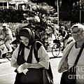 Two Women In Rovinj 2 by Madeline Ellis